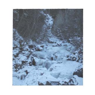 Pioneer Falls Butte Alaska Notepad