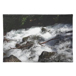 Pioneer Falls Butte Alaska Placemat