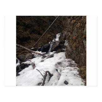 Pioneer Falls Butte Alaska Postcard