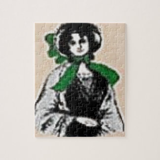 Pioneer Lady Jigsaw Puzzle