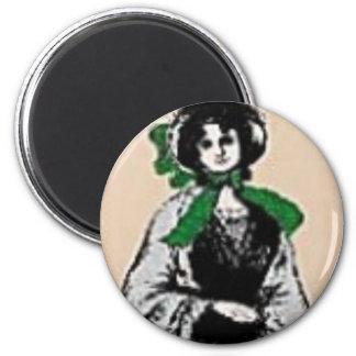 Pioneer Lady Magnet