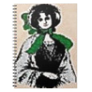 Pioneer Lady Notebook