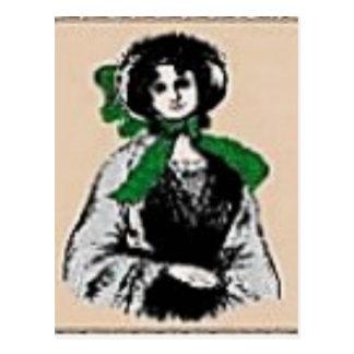 Pioneer Lady Postcard