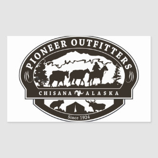 Pioneer Outfitters Logo sticker