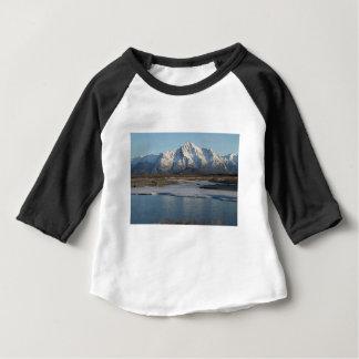 Pioneer Peak Mountain and Matanuska river Baby T-Shirt