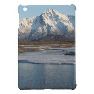 Pioneer Peak Mountain and Matanuska river iPad Mini Cases