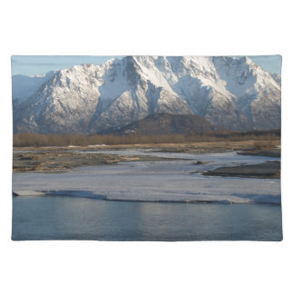 Pioneer Peak Mountain and Matanuska river Placemat