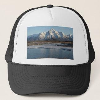 Pioneer Peak Mountain and Matanuska river Trucker Hat