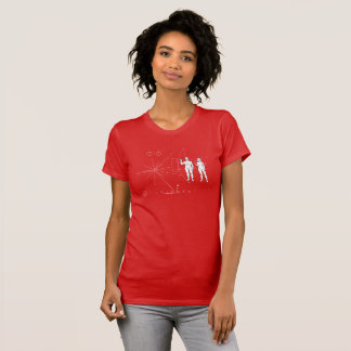 """Pioneer plaque """"Too small!"""" T-Shirt"""