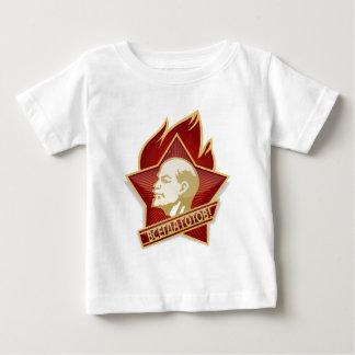 Pioneers Organization Vladimir Lenin Socialist Baby T-Shirt