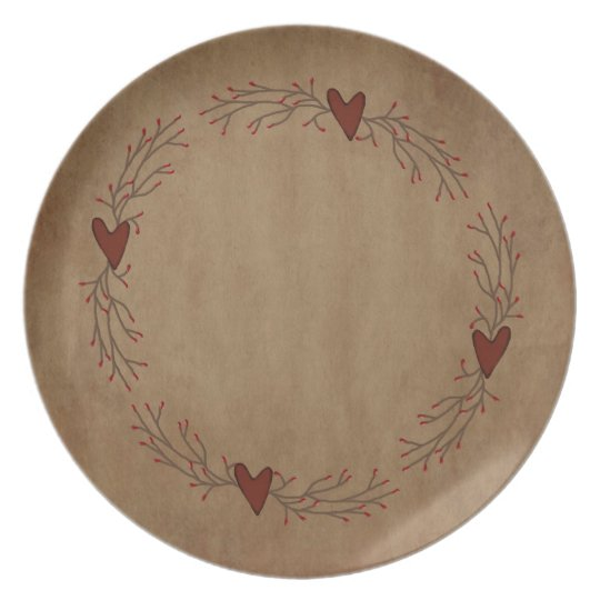 Pip Berry Heart Plate