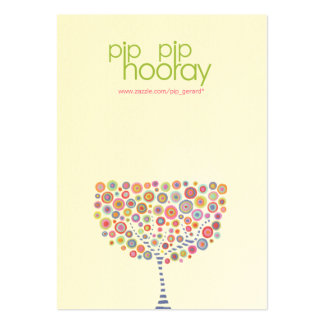 Pip Pip Hooray Product Backing Cards - Etsy, Ebay Pack Of Chubby Business Cards