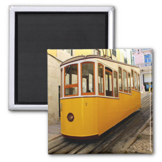 Pipe Funicular railway, Lisbon, Portugal Magnet