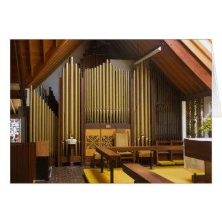 Pipe organ, Christchurch Greeting Card
