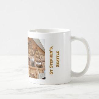Pipe organ mug - Seattle