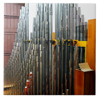Pipe Organ Pipes Tile
