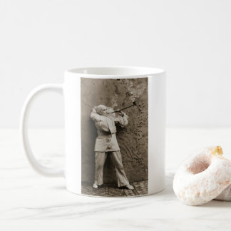 Pipe Smoking Mime 1895 Coffee Mug