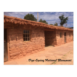 Pipe Spring National Monument Postcard
