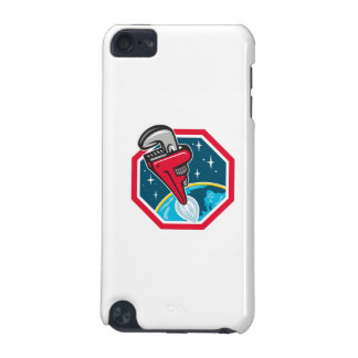 Pipe Wrench Rocket Booster Blasting Space Hexagon iPod Touch 5G Cases