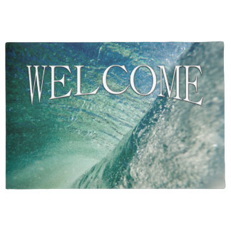 Pipeline Wave Welcome Mat