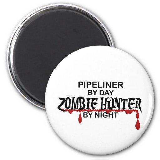 Pipeliner Zombie Hunter Fridge Magnets