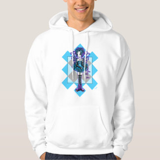 Piper Harlequin Dragonfly Faerie Fantasy Hoodie