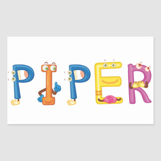 Piper Sticker