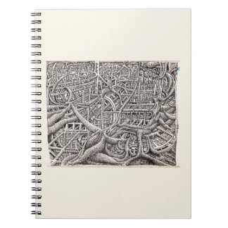 Pipescape, by Brian Benson Notebooks