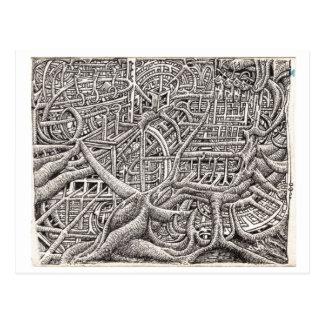 Pipescape, by Brian Benson Postcard