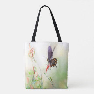 Pipevine in afternoon light tote bag