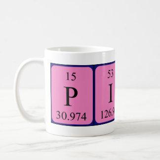 Pippa periodic table name mug