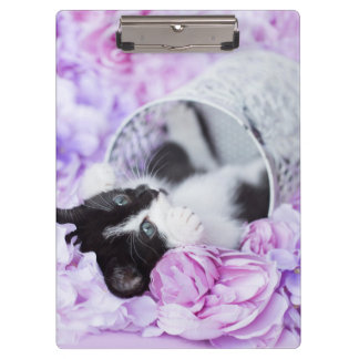 Pippa Purple Floral Clipboard