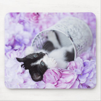 Pippa Purple Floral Mouse Pad