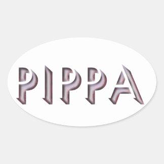 Pippa sticker name