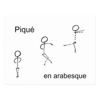 Pique Postcard
