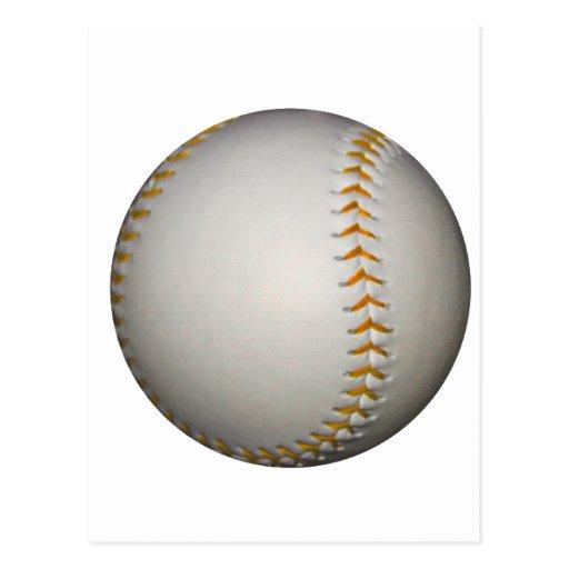 Piquer de base-ball/base-ball w/Orange Cartes Postales