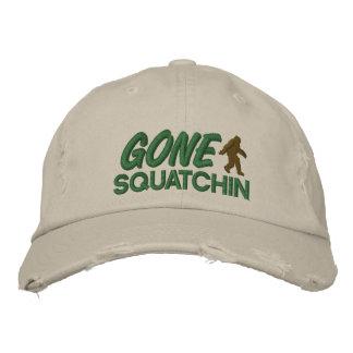Piquer vert et brun de Squatchin allé - Chapeaux Brodés
