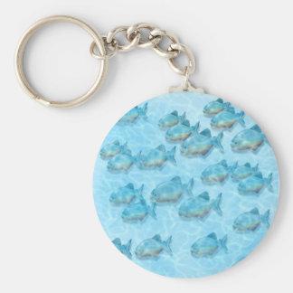 Piranha Keychain