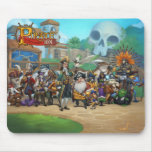 Pirate101 Skull Island Roster Mouse Pad