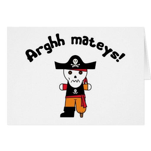 Pirate 1 d'Arghh Cartes