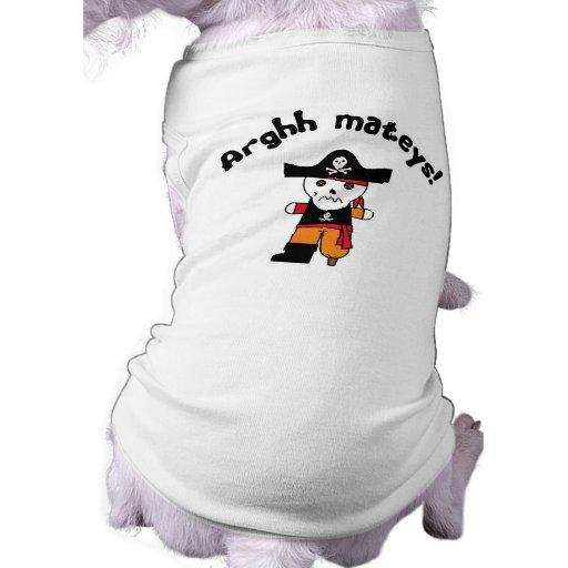 Pirate 1 d'Arghh Tee-shirt Pour Animal Domestique