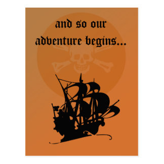Pirate Adventure postcard