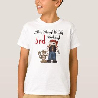 Pirate Ahoy Matey 3rd Birthday T-Shirt