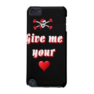Pirate and hearts iPod touch 5G covers