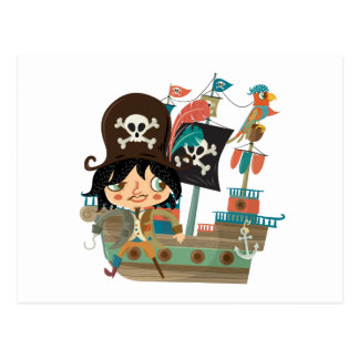 Pirate and Pirate Ship Post Cards