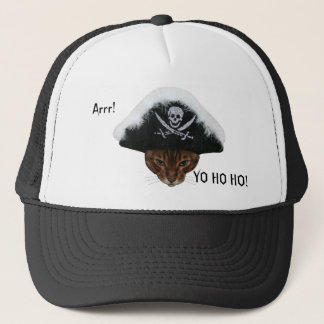 Pirate Arrr Trucker Hat