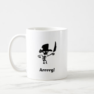Pirate Arrrrg Coffee Mug