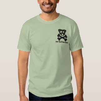 Pirate Aussie Embroidered T-Shirt