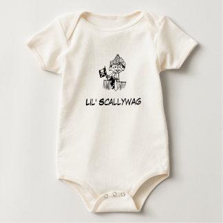 Pirate Baby Lil' Scallywag Baby Bodysuit