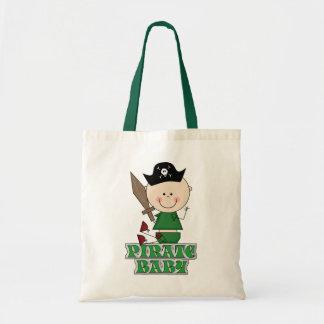 Pirate Baby Tote Bag